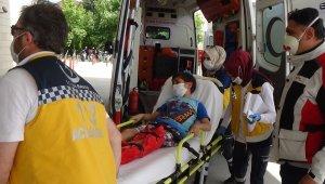 Otomobilin çarptığı çocuk yaralandı - Bursa Haberleri