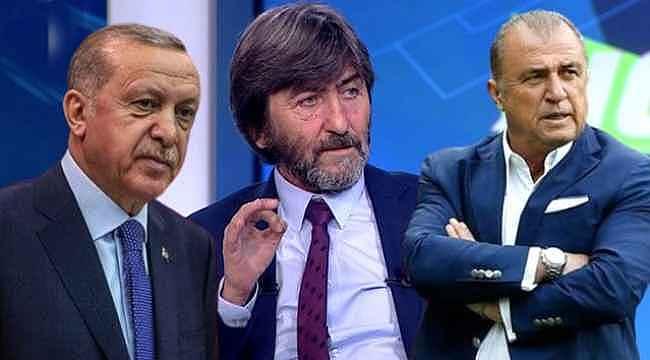 Rıdvan'dan çok konuşulacak Cumhurbaşkanı Erdoğan ve Terim iddiası
