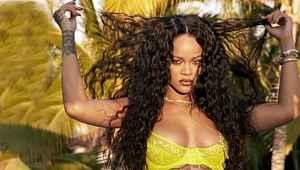 Rihanna, kendi markasının koleksiyonu için cesur pozlar verdi