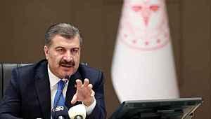 Sağlık Bakanı Koca, yoğun bakımdaki hasta sayısının düşük olduğu illeri paylaştı