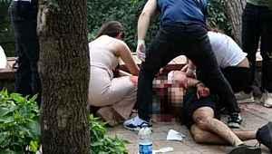 Sağlık çalışanının boğazını kesen saldırgan suç makinesi çıktı