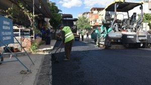Şahinbey'de asfalt çalışmaları aralıksız sürüyor