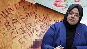 Saldırganın ismini kanıyla parkeye yazan talihsiz kadın için Bakan Selçuk devreye girdi