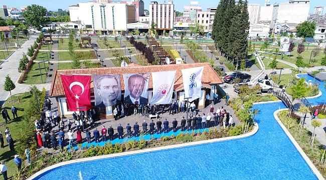 Samsun Millet Bahçesi törenle açıldı