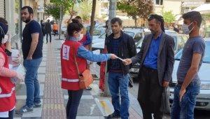 Şanlıurfa'da iki ayda 2 Milyon 644 bin maske dağıtıldı
