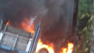 Seyir halindeki traktör alevlere teslim oldu - Bursa haberleri