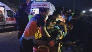 Sıkıştığı araçtan sağ kurtulan çocuk önce yakınlarını sordu