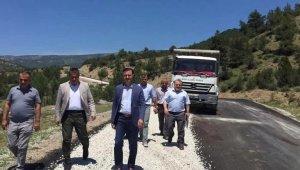Sinop İl Özel İdaresi 2020 yılı asfalt sezonunu başlattı