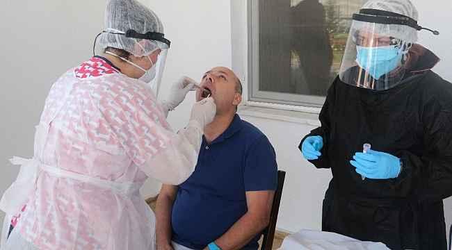 Sivas Belediyespor'a Covid-19 testi yapıldı