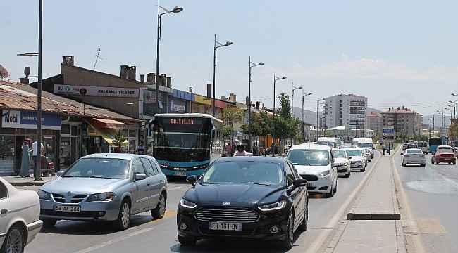 Sivas'ta her 7 kişiye bir motorlu araç düşüyor