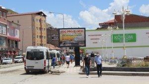 Sivas'taki vakaların yüzde 70'ı bu ilçede