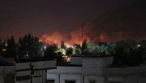 Suriye'de terör örgütü PKKYPG'ye ait silah deposunda patlama