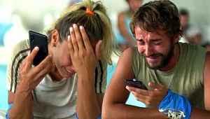Survivor'da aileleriyle konuşan yarışmacılar gözyaşlarına boğuldu