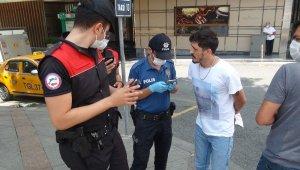 Taksim'de polis ekiplerinden şok