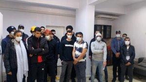 Tekirdağ'da 31 kaçak göçmen yakalandı