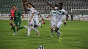 TFF 1. Lig: Giresunspor: 0 - Bursaspor: 1