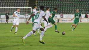 TFF 1. Lig: Giresunspor:0- Bursaspor: 0
