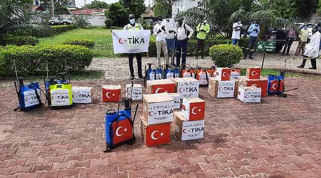TİKA'dan Güney Sudan Sağlık Bakanlığına ekipman desteği