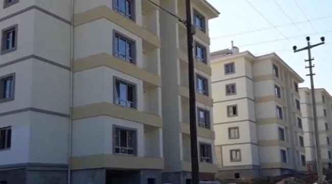 Tosya'da Sosyal Konut kuraları çekiliyor