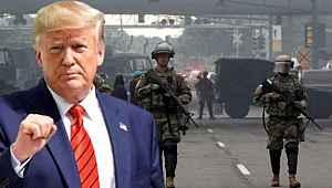 Trump, protestolara karşı orduyu devreye sokma planında geri adım attı