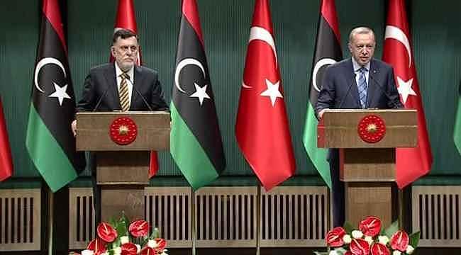 Türkiye ve Libya'dan dünyaya Doğu Akdeniz resti... Yeni anlaşma duyuruldu