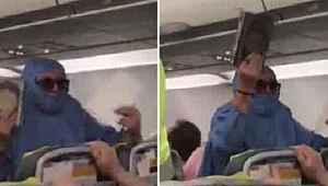 Uçakta 'FETÖ'cüyüm, uçağı patlatacağım' diyen kadın hakkında karar verildi