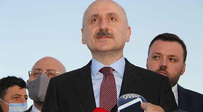 Ulaştırma ve Alt Yapı Bakanı Karaismailoğlu Erzurum Havalimanı'nda incelemelerde bulundu