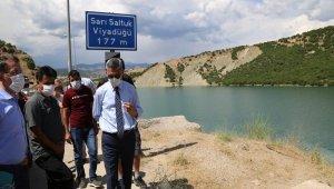 Vali Özkan,Gülistan'ı arama çalışmalarını takip etti