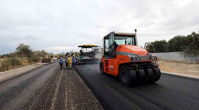 Van Büyükşehir Belediyesinden asfalt çalışması