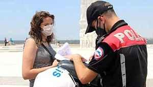 Vatandaşlar yasağa uyuyor... Maske takmadığı için ceza kesilen kişi sayısı belli oldu