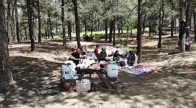 Yasağın kalkmasıyla vatandaşlar piknik alanlarına akın etti
