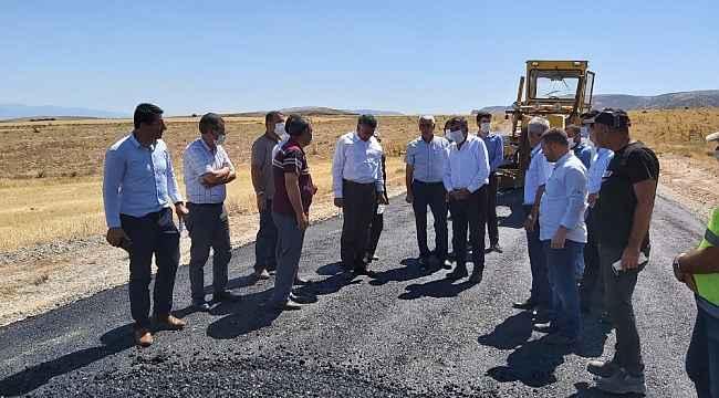 Yazıhan'da asfalt memnuniyeti