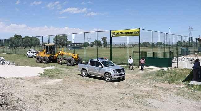 Yerköyspor'un yeni stad ismi asıldı