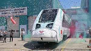 Yerli ve milli trenin ilk sürüşü Cumhurbaşkanı tarafından yapılacak