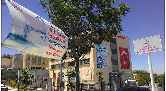 Yeşilyurt'ta Devlet Hastanesi tekrar poliklinik hizmeti vermeye başladı