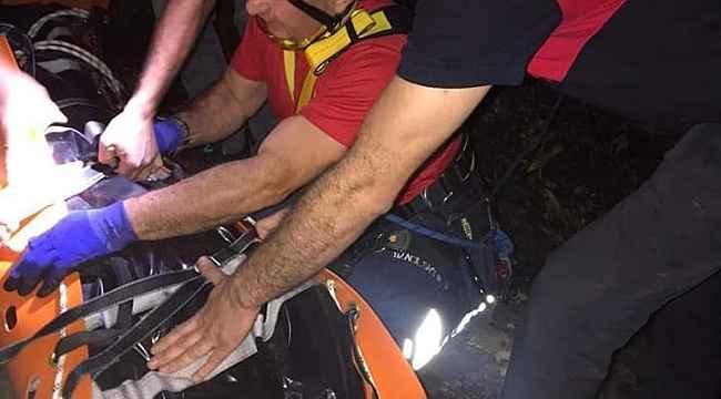 Giresun'da 50 Metre yükseklikten dereye düşen kişi hayatını kaybetti