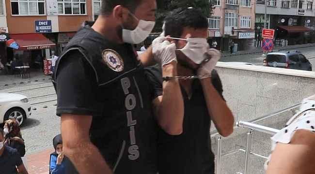 1,7 kilo uyuşturucu ile yakalanan 3 kişi adliyeye sevk edildi