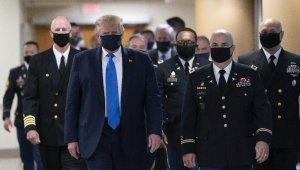 ABD Başkanı Trump ilk kez maskeli görüntülendi