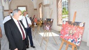 Adıyaman Üniversitesi 15 Temmuz sergisi açtı