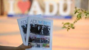 ADÜ Haber Dergisi'nin 153. sayısı okurlarla buluştu
