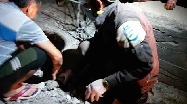 Afrin'de patlama: 1 ölü, 2 yaralı