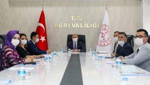Ağrı'da eğitim ve öğretim konulu proje toplantısı yapıldı