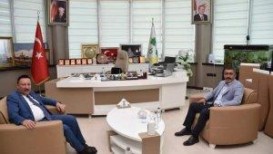 AK Parti Bağlar İlçe Başkanı Gezer'den Beyoğlu'na ziyaret