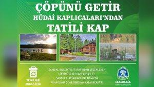Akdağ Tabiat Parkında çöplerini toplayan vatandaşlar tatille ödüllendirilecek
