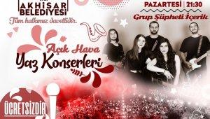 Akhisar 'Açık Hava Yaz Konserleri' başlıyor