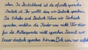 Almanya'da teneffüste Türkçe konuşan öğrencilere ceza