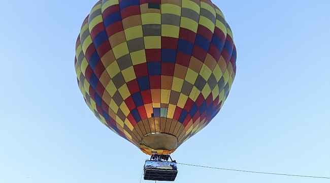 Ankaralılar Başkent'i sıcak hava balonu ile seyretti