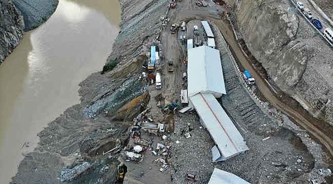 Artvin'de sel felaketi: Bir kişi öldü, üç kişi kayıp