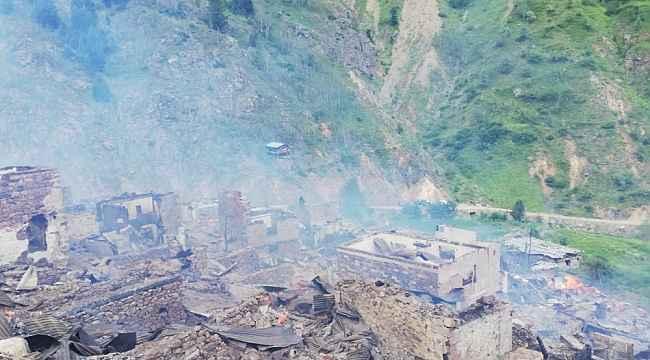 Artvin Yusufeli'ndeki yangın kontrol altına alındı