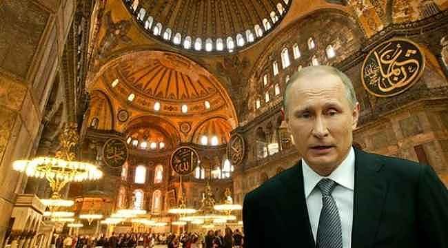 Ayasofya için günler sonra karar verilecekken Rusya'dan Atatürk çağrılı müze çağrısı geldi